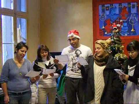 Fete de Noel a Accent Francais : une video - French language school