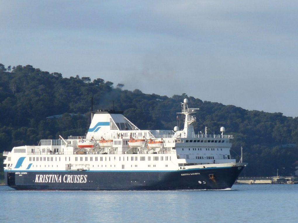 KRISTINA  KATARINA  , arrivant à Toulon le 09 avril 2012