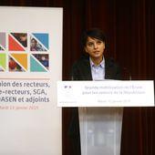 Mobilisons l'École pour les valeurs de la République : discours de Najat Vallaud-Belkacem