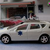 PEUGEOT 407 SW AMBULANCE NOREV 3 INCHES - car-collector.net