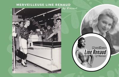 PHOTOS: Line Renaud et Loulou Gasté dans un supermarché américain