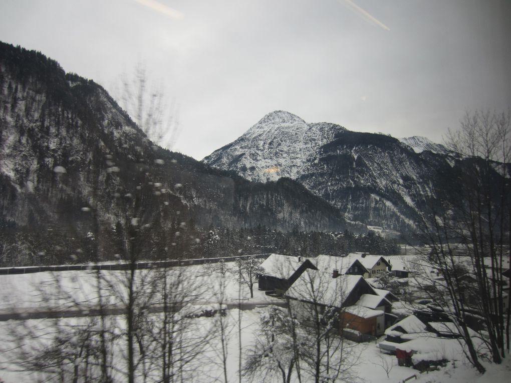 Railjet, Österreichische Bundesbahnen Le Tyrol autrichien, l'Arlberg Photos: EmMa (M. et Em. presse)