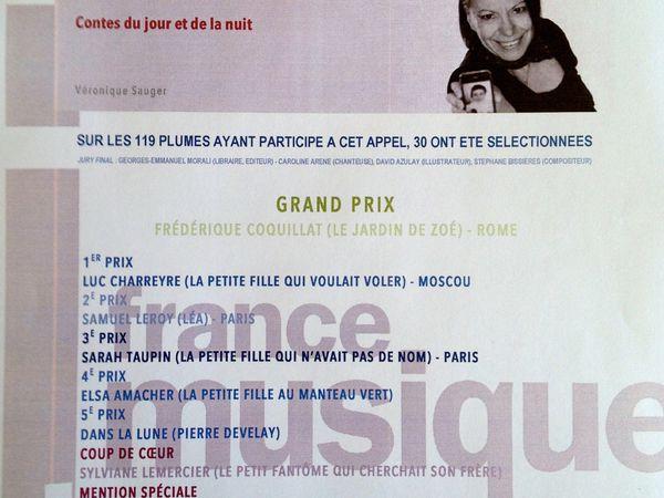 """lauréat dans FRAGMENTS LAUREATS : 1 épisode : """"la cerise"""""""