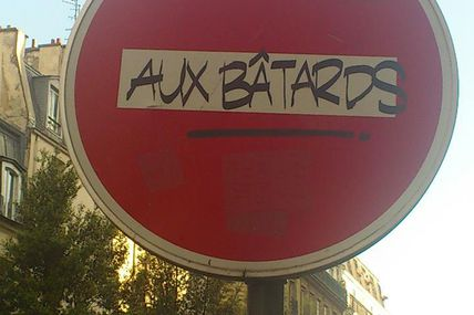 Street marketing (#interditauxbâtards)