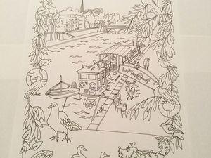 Les dessins du blog du Cabinet Thierry Vallat à colorier sont disponibles dès ce samedi 27 janvier 2018 au 3 rue Thérèse à Paris 1er