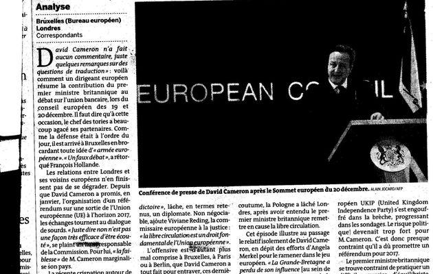 La Grande Bretagne est-elle européenne ?