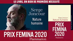 Nature Humaine, Serge Joncour, Flammarion 2020