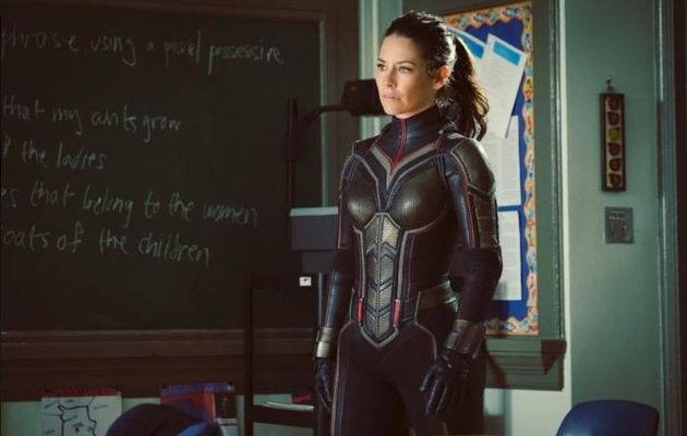 Ant-Man and The Wasp : Evangeline Lilly dévoile le costume de La Guêpe
