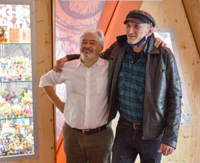 Hervé di Rosa et Bernard Belluc