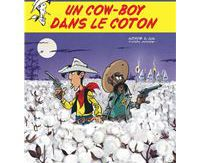 A cow - boy in the coton