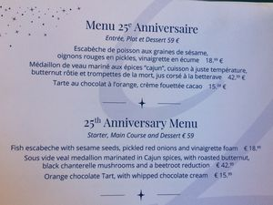 Le restaurant Walt's de Disneyland Paris