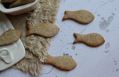 Poisson d'Avril ! - biscuits sans gluten #partenariat