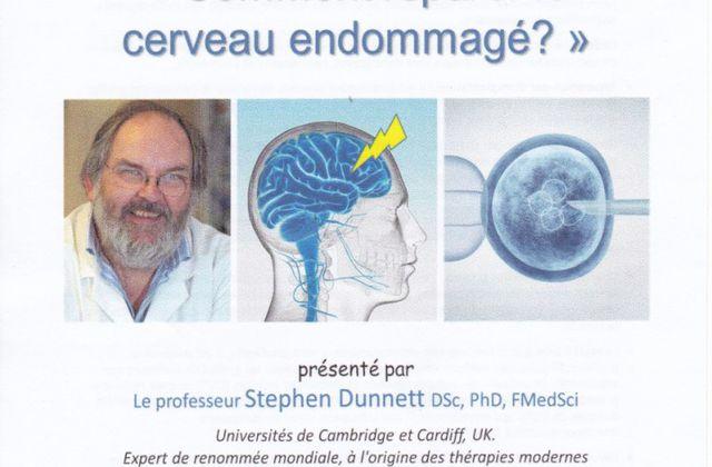 """Conférence """"Comment réparer le cerveau endommagé ?"""""""