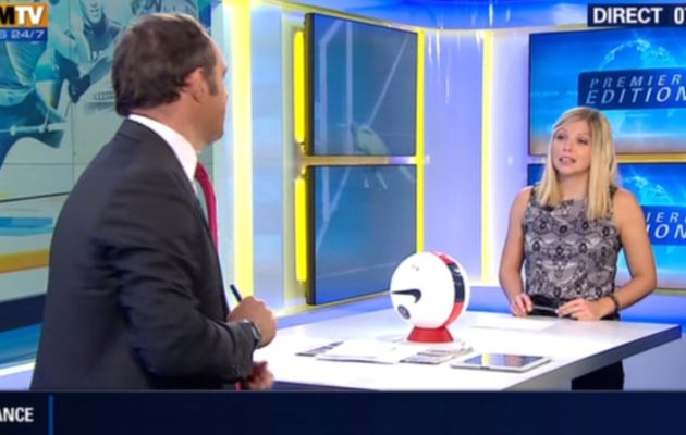 2013 10 16 - 07H15 - CAROLE COATSALIOU - BFM TV - PREMIERE EDITION 'LES SPORTS'