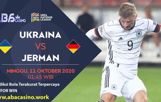 Prediksi UEFA Nations League Ukraina vs Jerman Minggu 11 Oktober 2020