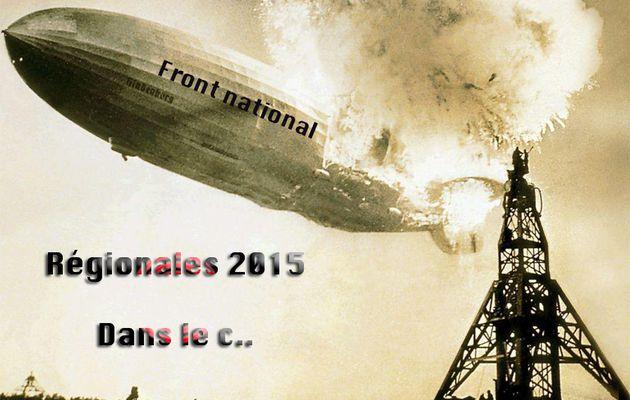 Régionales 2015 ; le FN fait pschitt !