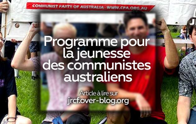 Le programme pour la jeunesse des communistes australiens