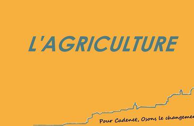 L'agriculture avec Sabine Débit  (Vidéo)