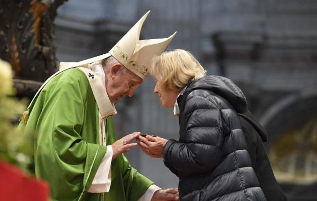 Pape François: les pauvres sont «les portiers du Ciel»