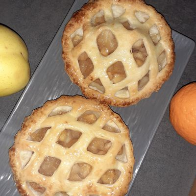 GALETTES INDIVIDUELLES aux pommes