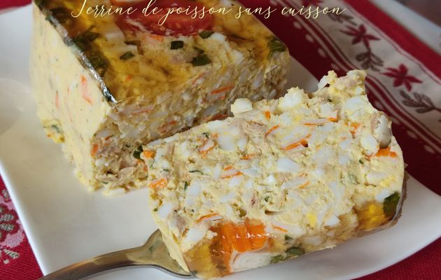 Terrine de poisson simplissime