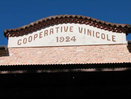 Cave coopérative de Venelles.