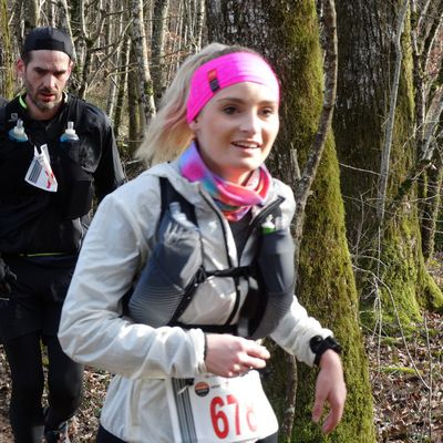 Trail des Monts de Gy 2020 - Album photo - Thierry et Christelle