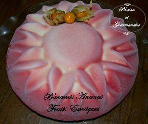 Bavarois Ananas Fruits Exotiques