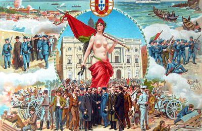 5 Octobre 1910 Proclamation de la République Portugaise ...