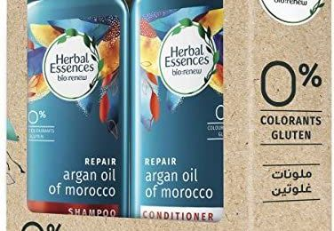 Herbal Essense Argan Oil Morocco Shampoo and Conditioner