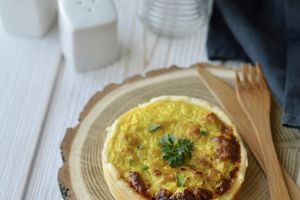 Mini quiches Thon - Noix de Coco - Curry
