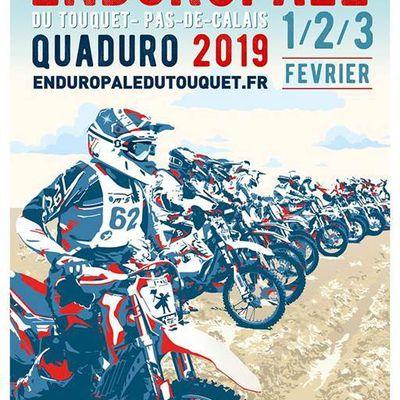 Le Ramzy Team à l'Enduropale du Touquet.