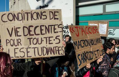 A Besançon, la CGT va distribuer des colis d'aide alimentaire aux étudiants