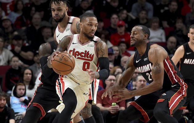 Les Blazers se relancent face à Miami