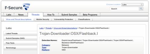 Un virus sous Mac OSX !!!