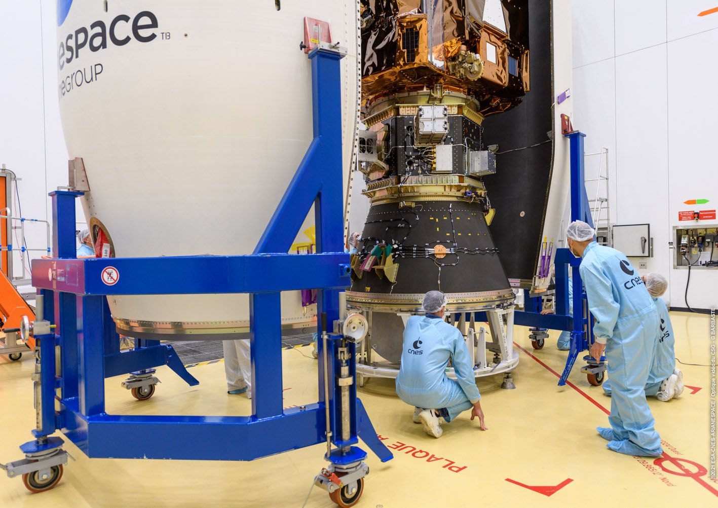 Vega - VV18 - Pleiades Neo 3 - Pléiades NEO - Airbus Defence and Space - Launch - Arianespace - Coiffe