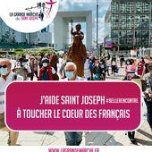 La grande marche de Saint Joseph du 7 juin au 15 août 2021