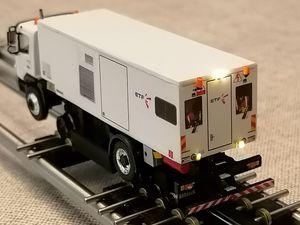 Camion meuleur de rails ETF