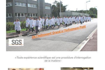 Journal collaboratif de SGS multilab Rouen édité a l occasion fete de la science