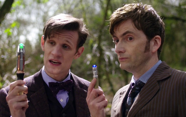 Critiques Séries : Doctor Who, 50th Anniversary Special - The Day of the Doctor