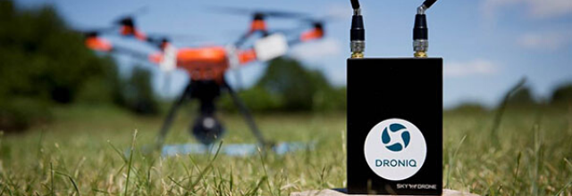 Droniq and Sky Drone enable long-range drone flights with real time command & control via mobile network