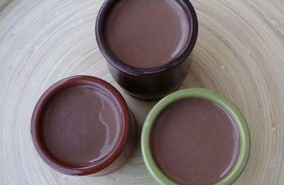 Crèmes et yaourts chocolat et amande amère