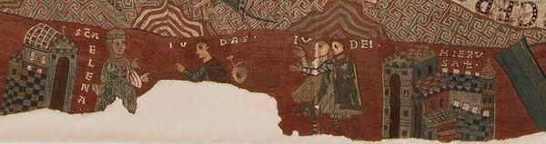 La genèse brodée - tapisserie de Gérone