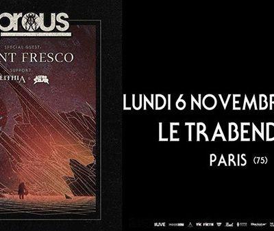 Agenda : Leprous au Trabendo, le 6 novembre 2017