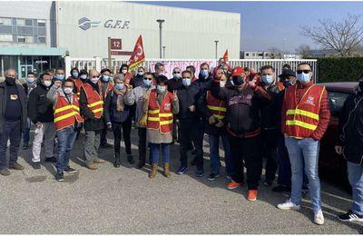Les métallos du Rhône se mobilisent pour les libertés chez GFF
