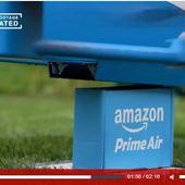 Amazon teste ses drones de livraison en Grande Bretagne - OOKAWA Corp. Raisonnements Explications Corrélations