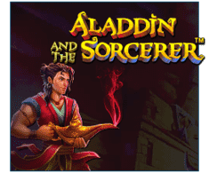 machine a sous mobile Aladdin and the Sorcerer logiciel Pragmatic Play