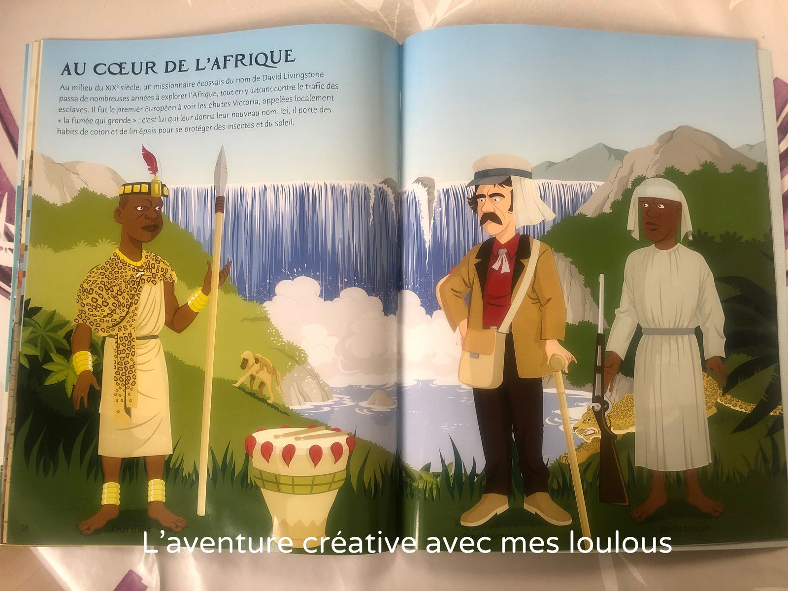 Habille ... Les explorateurs Usborne