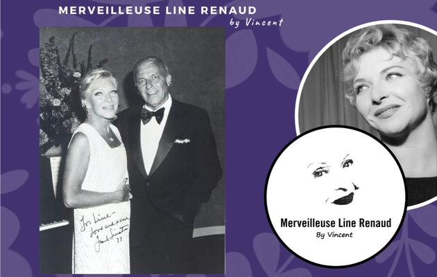 PHOTOS: Line Renaud dans la Loge de Franck Sinatra au Cesar Palace 1977