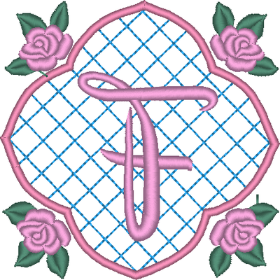 ABC aux 4 roses: la lettre F